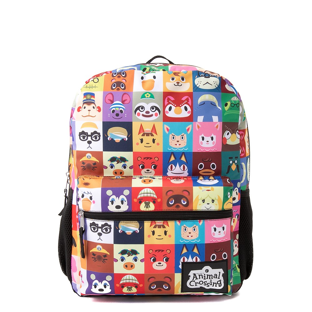 Aminal Crossing Backpack - Multicolor