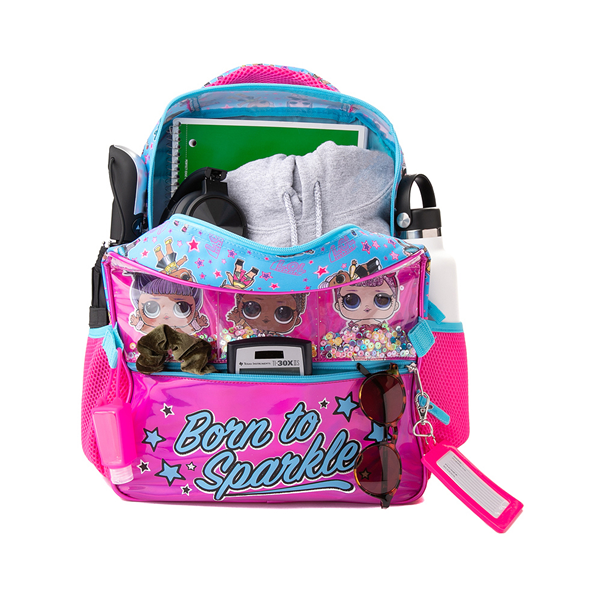 alternate view LOL Surprise!™ Born To Sparkle Backpack Set - PinkALT1