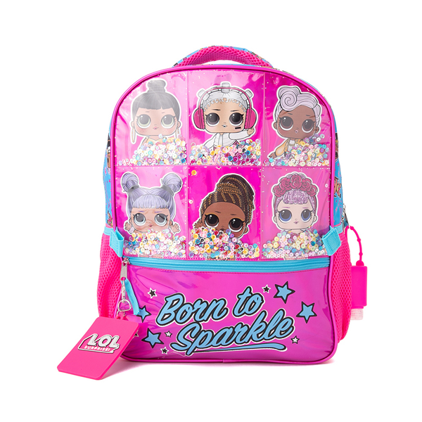 alternate view LOL Surprise!™ Born To Sparkle Backpack Set - PinkALT3B