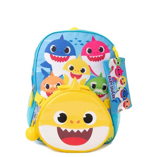 alternate view Baby Shark Backpack Set - BlueALT3B