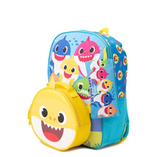 alternate view Baby Shark Backpack Set - BlueALT4