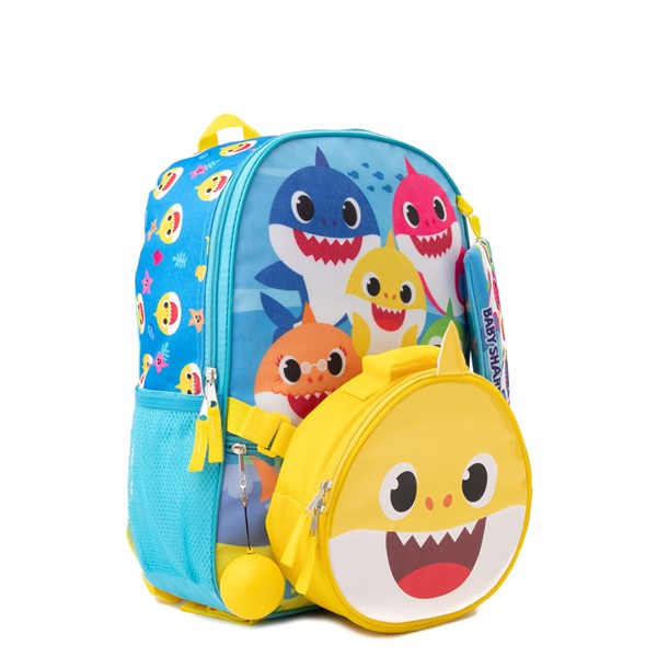 alternate view Baby Shark Backpack Set - BlueALT4B