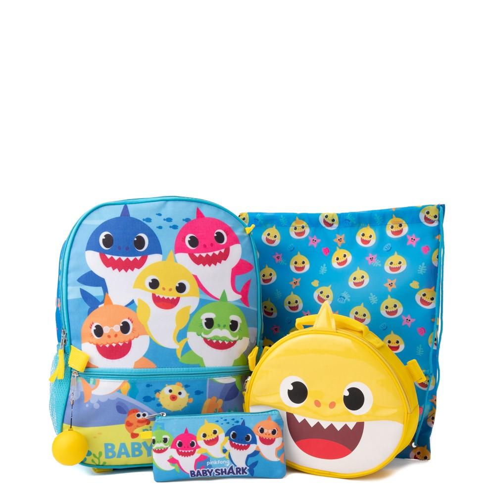 Baby Shark Backpack Set - Blue