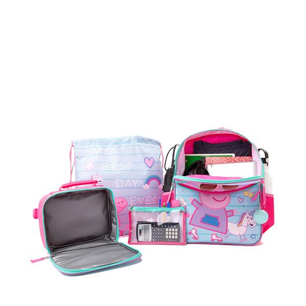 alternate view Peppa Pig Backpack Set - Pink / BlueALT1