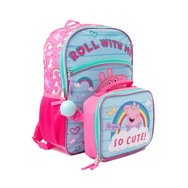 alternate view Peppa Pig Backpack Set - Pink / BlueALT4B