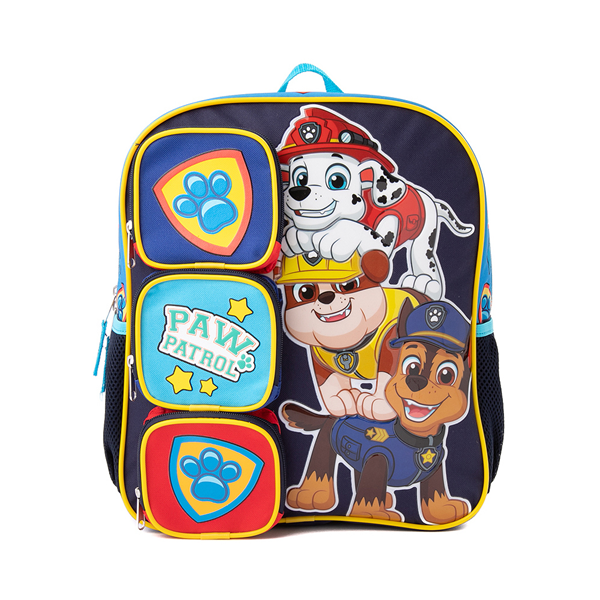 Main view of Paw Patrol Backpack - Blue