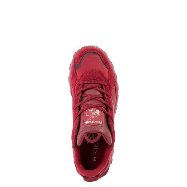 alternate view Reebok x Cardi B Classic Leather Athletic Shoe - Big Kid - Triathlon RedALT2
