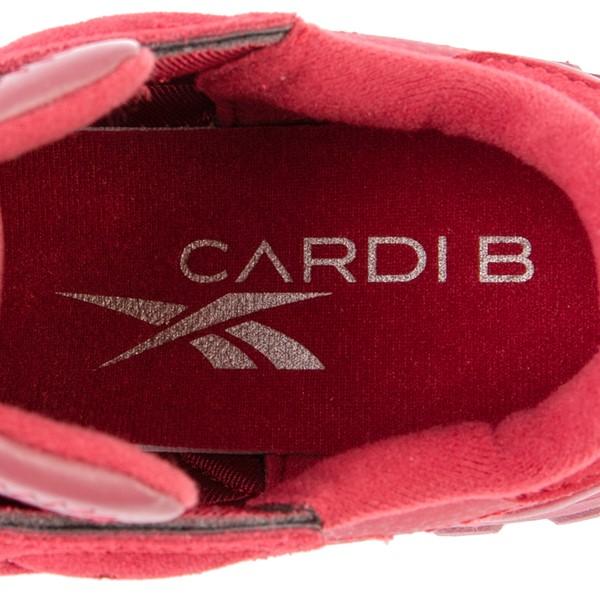 alternate view Reebok x Cardi B Classic Leather Athletic Shoe - Big Kid - Triathlon RedALT2B