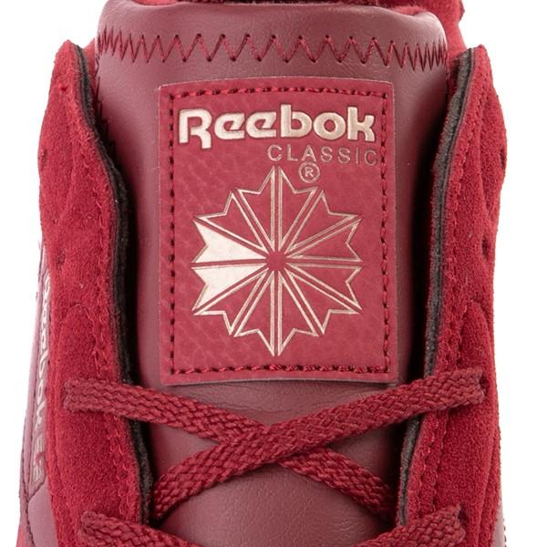 alternate view Reebok x Cardi B Classic Leather Athletic Shoe - Big Kid - Triathlon RedALT4B