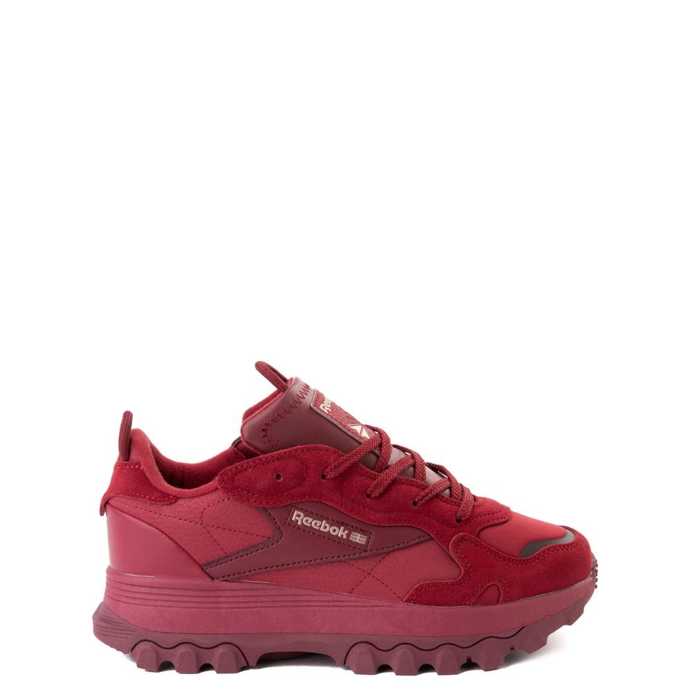 Reebok x Cardi B Classic Leather Athletic Shoe - Big Kid - Triathlon Red