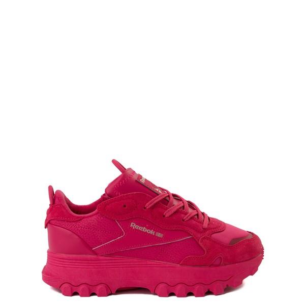 Reebok x Cardi B Classic Leather Athletic Shoe - Big Kid - Semi Pursuit Pink