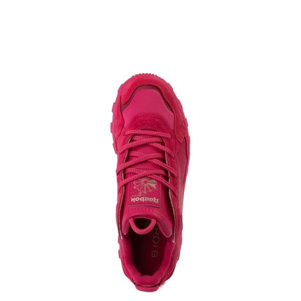 alternate view Reebok x Cardi B Classic Leather Athletic Shoe - Big Kid - Semi Pursuit PinkALT2