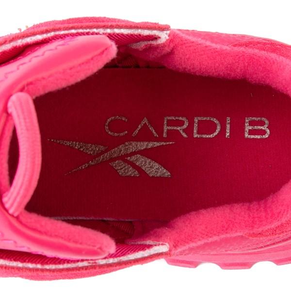 alternate view Reebok x Cardi B Classic Leather Athletic Shoe - Big Kid - Semi Pursuit PinkALT2B