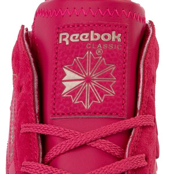 alternate view Reebok x Cardi B Classic Leather Athletic Shoe - Big Kid - Semi Pursuit PinkALT4B