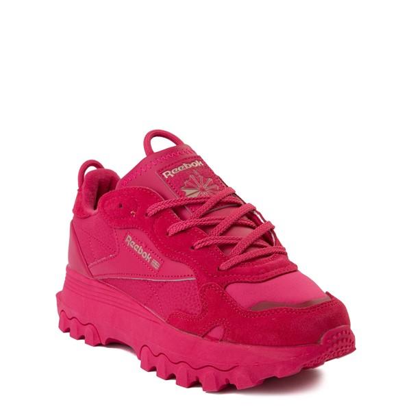 alternate view Reebok x Cardi B Classic Leather Athletic Shoe - Big Kid - Semi Pursuit PinkALT5