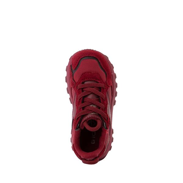 alternate view Reebok x Cardi B Classic Leather Athletic Shoe - Toddler - Triathlon RedALT2