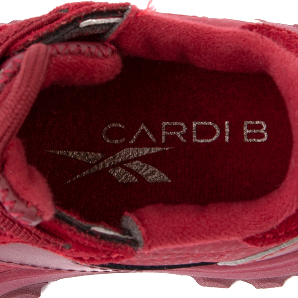 alternate view Reebok x Cardi B Classic Leather Athletic Shoe - Toddler - Triathlon RedALT2B