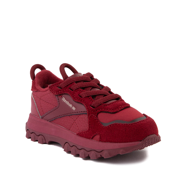alternate view Reebok x Cardi B Classic Leather Athletic Shoe - Toddler - Triathlon RedALT5