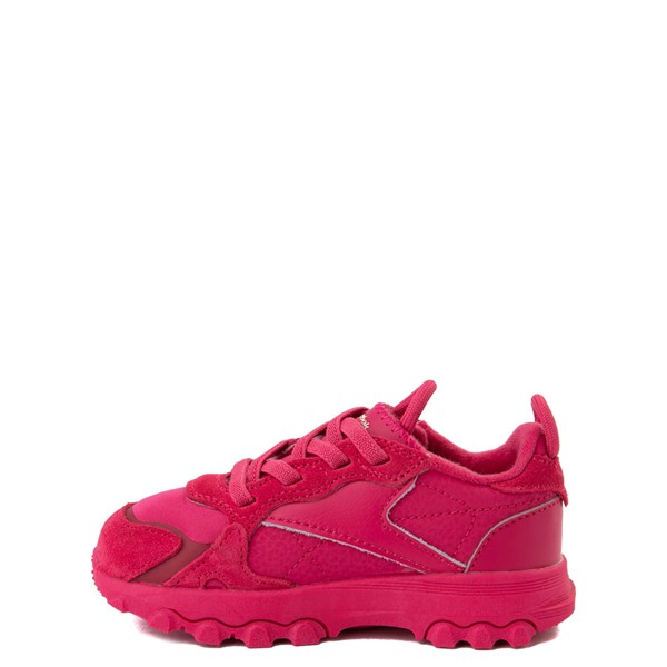 alternate view Reebok x Cardi B Classic Leather Athletic Shoe - Toddler - Semi Pursuit PinkALT1
