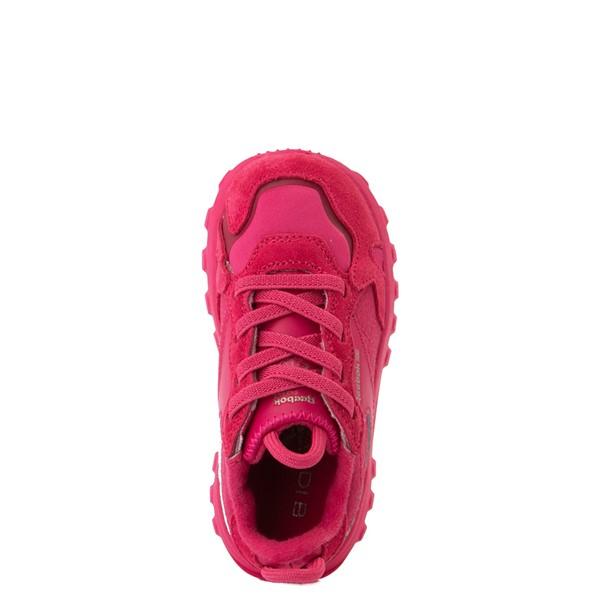 alternate view Reebok x Cardi B Classic Leather Athletic Shoe - Toddler - Semi Pursuit PinkALT2