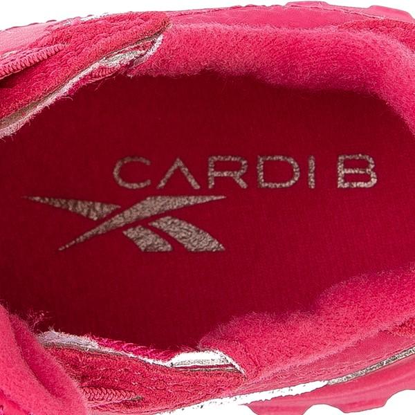 alternate view Reebok x Cardi B Classic Leather Athletic Shoe - Toddler - Semi Pursuit PinkALT2B