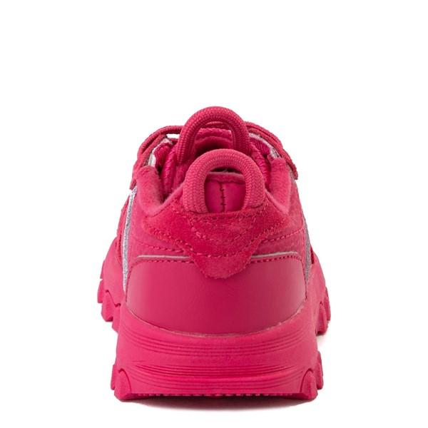 alternate view Reebok x Cardi B Classic Leather Athletic Shoe - Toddler - Semi Pursuit PinkALT4