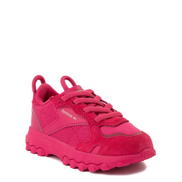 alternate view Reebok x Cardi B Classic Leather Athletic Shoe - Toddler - Semi Pursuit PinkALT5