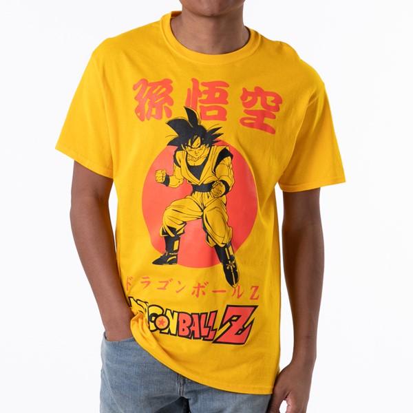 alternate view Mens Dragon Ball Z Goku Tee - GoldALT1B