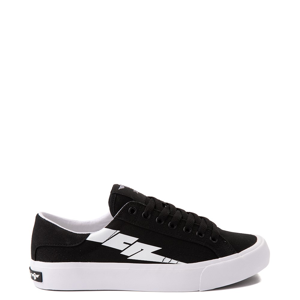 Womens Creative Recreation Zeus Lo Sneaker - Black / White