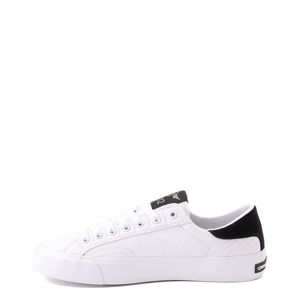 alternate view Womens Creative Recreation Zeus Lo Sneaker - White / BlackALT1
