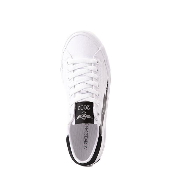 alternate view Womens Creative Recreation Zeus Lo Sneaker - White / BlackALT2