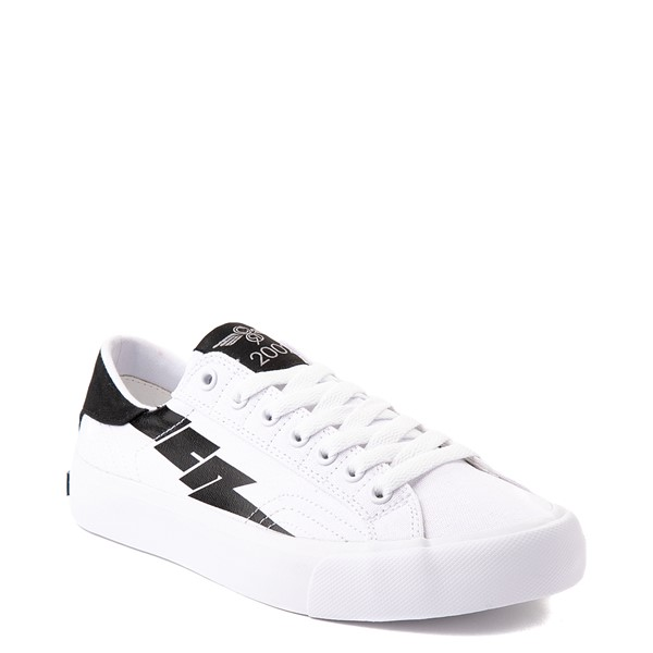alternate view Womens Creative Recreation Zeus Lo Sneaker - White / BlackALT5