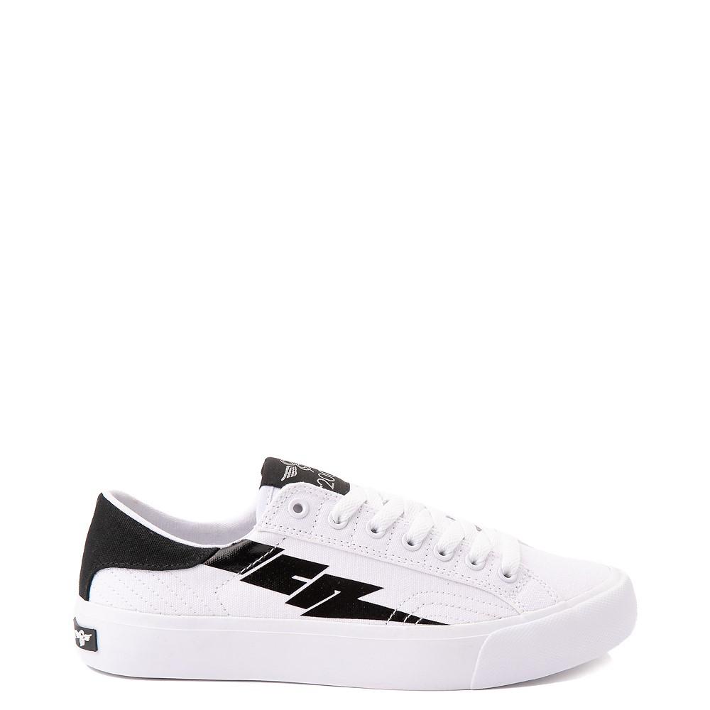 Womens Creative Recreation Zeus Lo Sneaker - White / Black