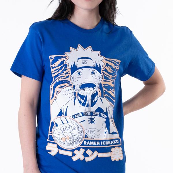 alternate view Womens Naruto Ichiraku Ramen Boyfriend Tee - BlueALT1B