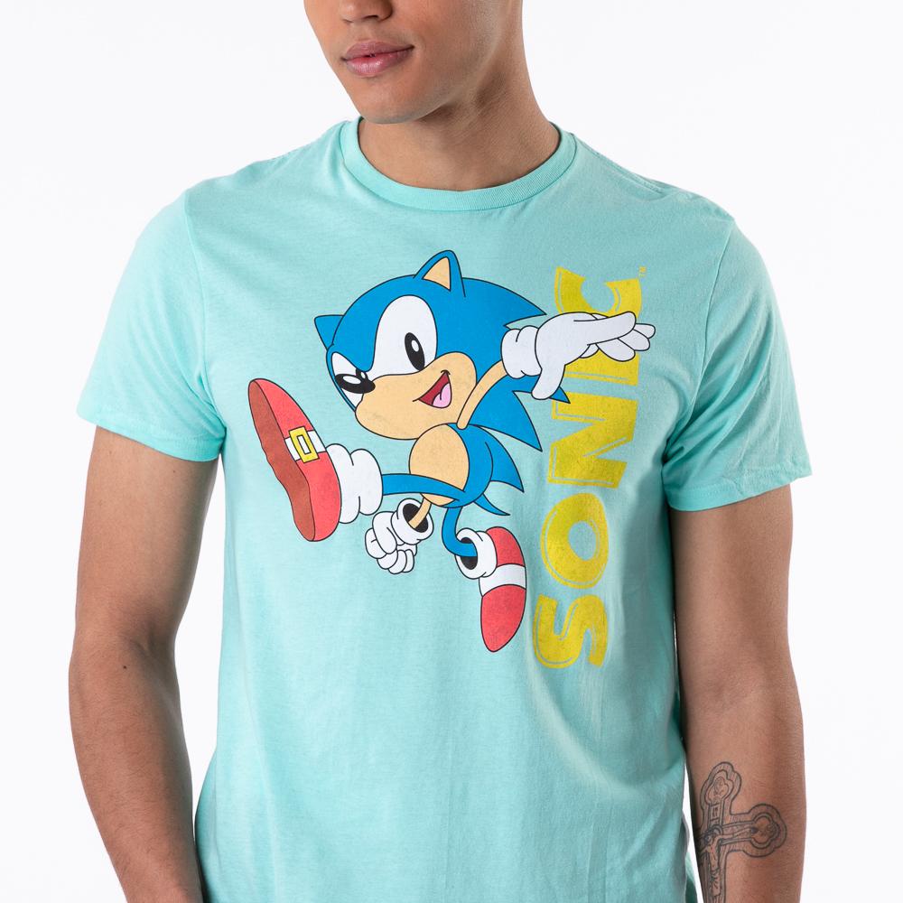 Mens Sonic The Hedgehog™ Tee - Blue