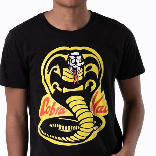 alternate view Mens Cobra Kai Tee - BlackALT1B