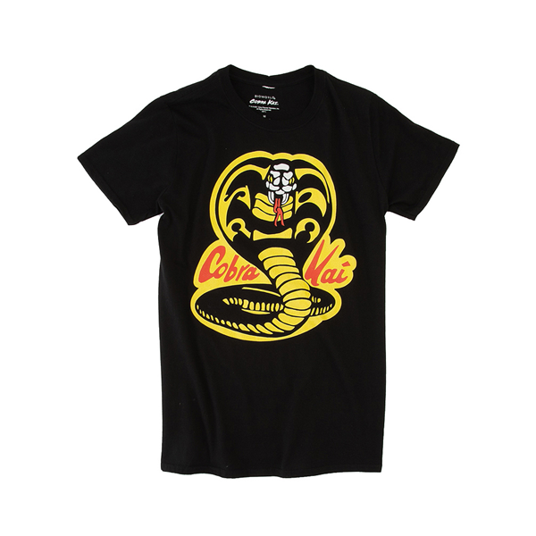 alternate view Mens Cobra Kai Tee - BlackALT2