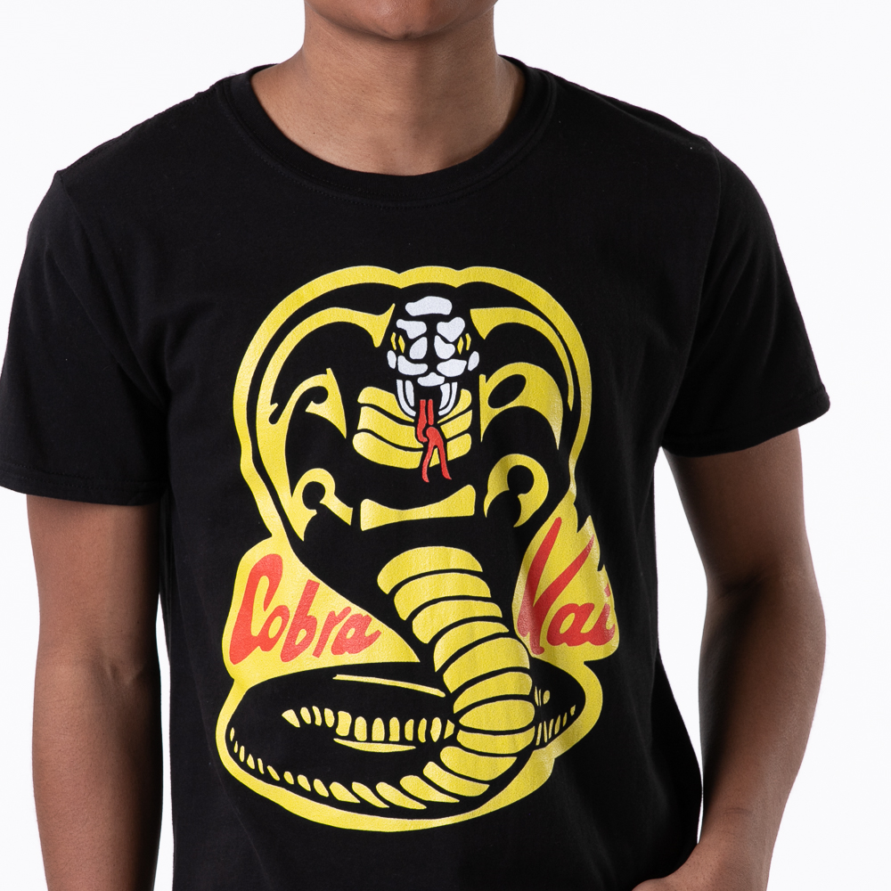 Mens Cobra Kai Tee - Black