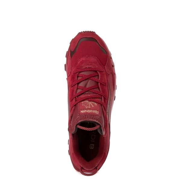 alternate view Womens Reebok x Cardi B Classic Leather Athletic Shoe - Triathlon RedALT2