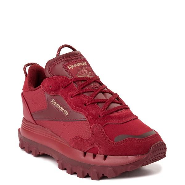 alternate view Womens Reebok x Cardi B Classic Leather Athletic Shoe - Triathlon RedALT5