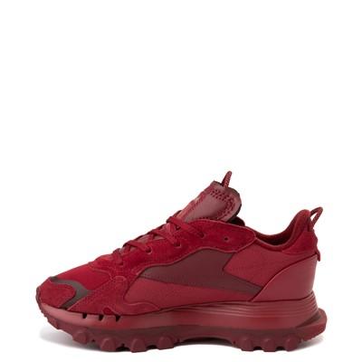Alternate view of Womens Reebok x Cardi B Classic Leather Athletic Shoe - Triathlon Red