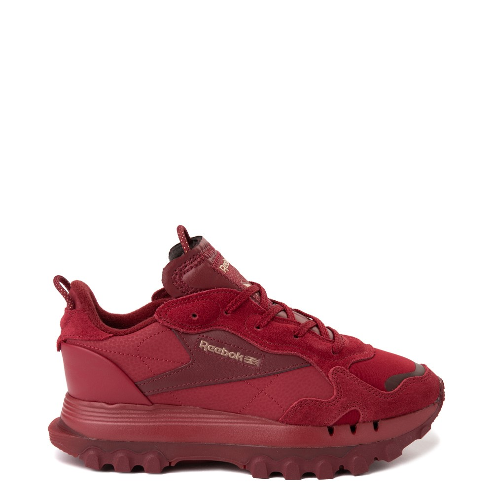 Womens Reebok x Cardi B Classic Leather Athletic Shoe - Triathlon Red