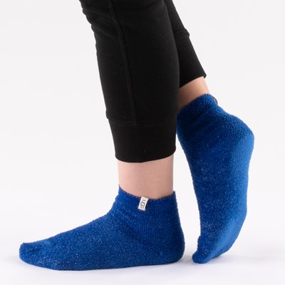 Alternate view of Womens UGG® Keri Sparkle Quarter Socks 3 Pack - White / Blue / Primrose