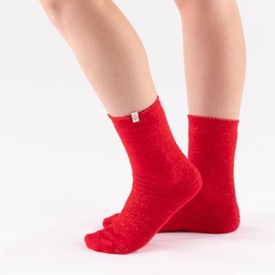 Alternate view of Womens UGG® Keri Sparkle Quarter Socks 3 Pack - Black / Red / Gray