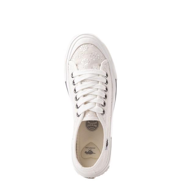 alternate view Womens Rocket Dog Jumpin White Eyelet Sneaker - WhiteALT2