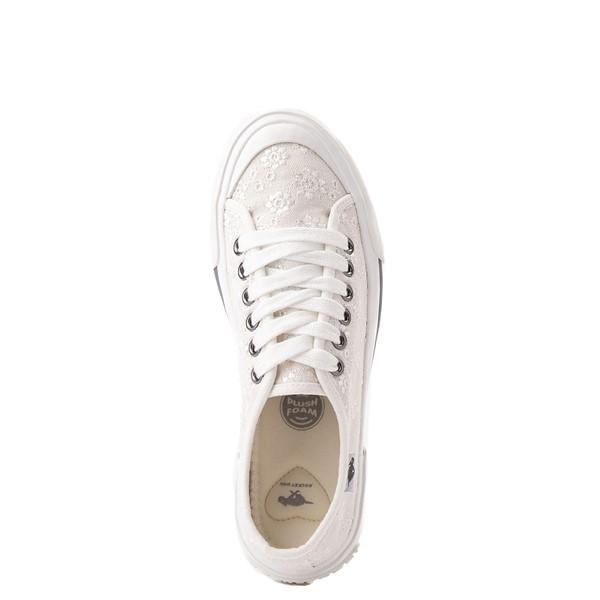 alternate view Womens Rocket Dog Jumpin White Eyelet Sneaker - WhiteALT4B