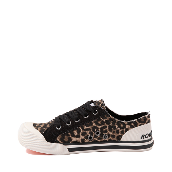 alternate view Womens Rocket Dog Jazzin Casual Shoe - LeopardALT1