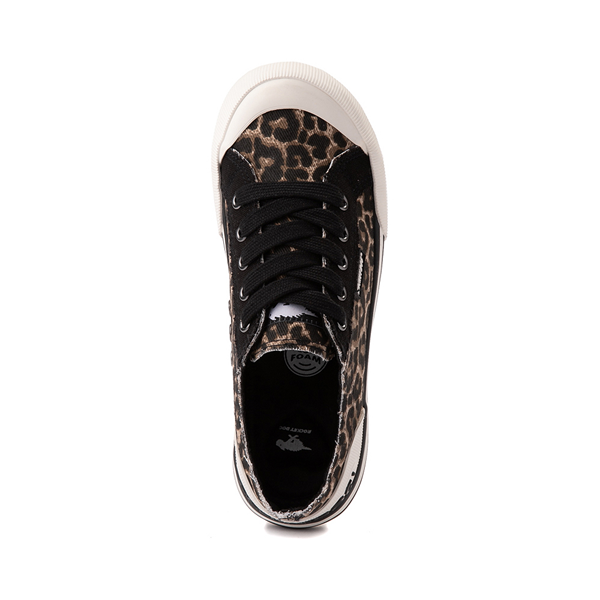 alternate view Womens Rocket Dog Jazzin Casual Shoe - LeopardALT2