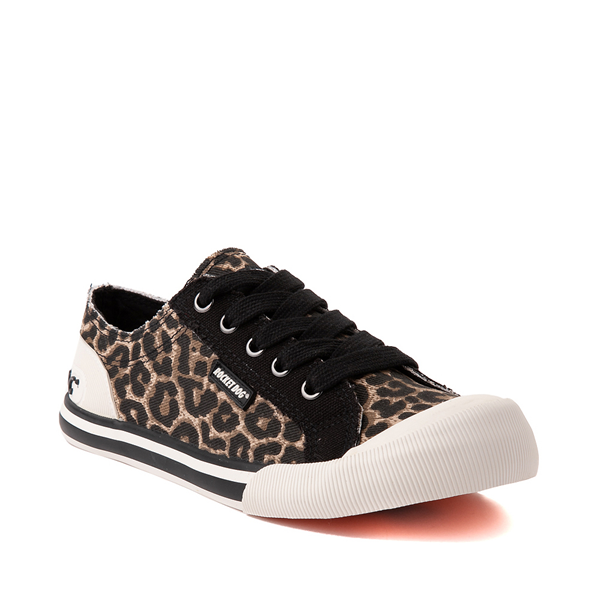 alternate view Womens Rocket Dog Jazzin Casual Shoe - LeopardALT5