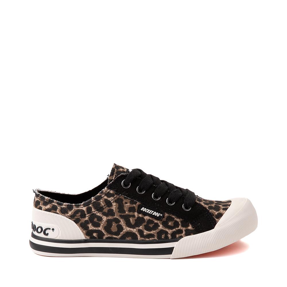 Womens Rocket Dog Jazzin Casual Shoe - Leopard